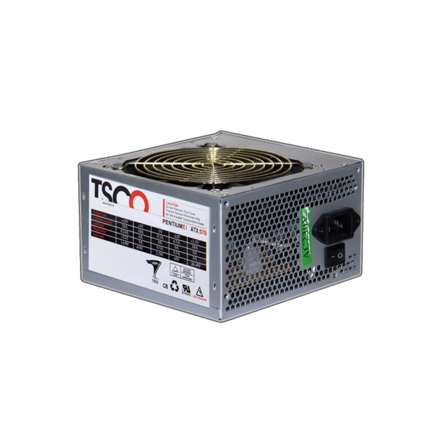 تصویر منبع تغذیه کامپیوتر تسکو مدل TP570 منبع تغذيه وظيفهي برقرساني به قطعات رايانه را بر عهده دارد.