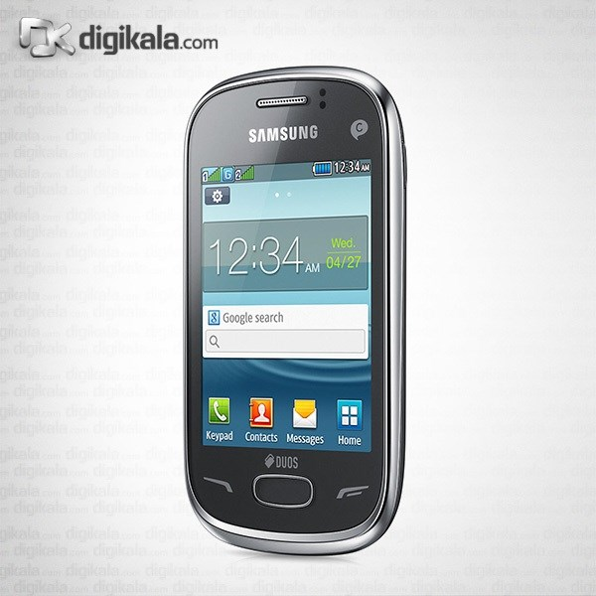 img گوشي موبايل سامسونگ رکس 70 S3802 دو سيم کارت Samsung Rex 70 S3802 Dual SIM Mobile Phone