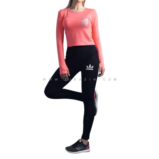 تصویر ست دو تیکه پیراهن شلوار زنانه ورزشی : کد ۷
