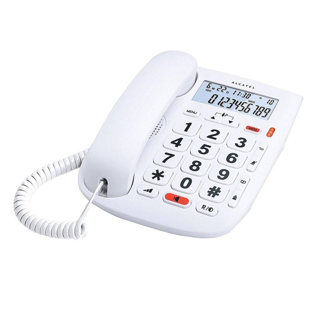 تصویر تلفن باسیم آلکاتل مدل TMAX ۱ Alcatel TMAX 1 Corded Phone