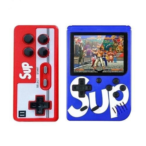 تصویر کنسول بازی قابل حمل ساپ گیم باکس مدل 400 ( آبی)