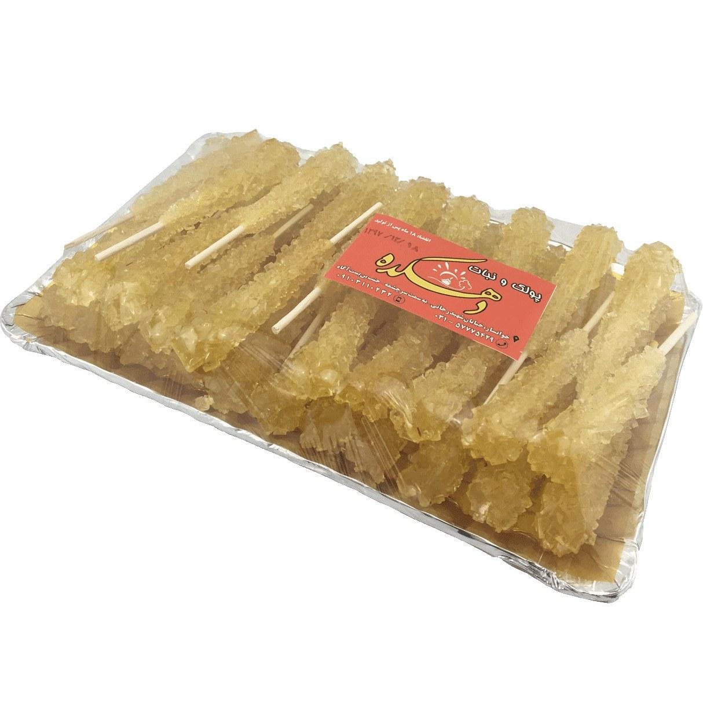 تصویر نبات چوبی دو بار زعفران دهکده ۹۰۰ گرم