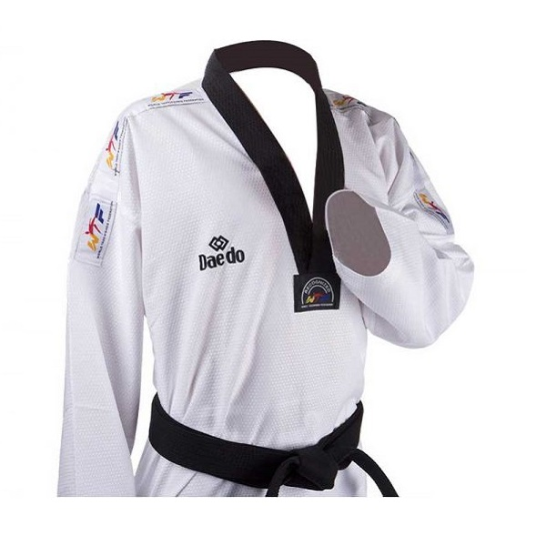 لباس تکواندو پشت توری DAEDO | Daedo Taekwondo lace Net back
