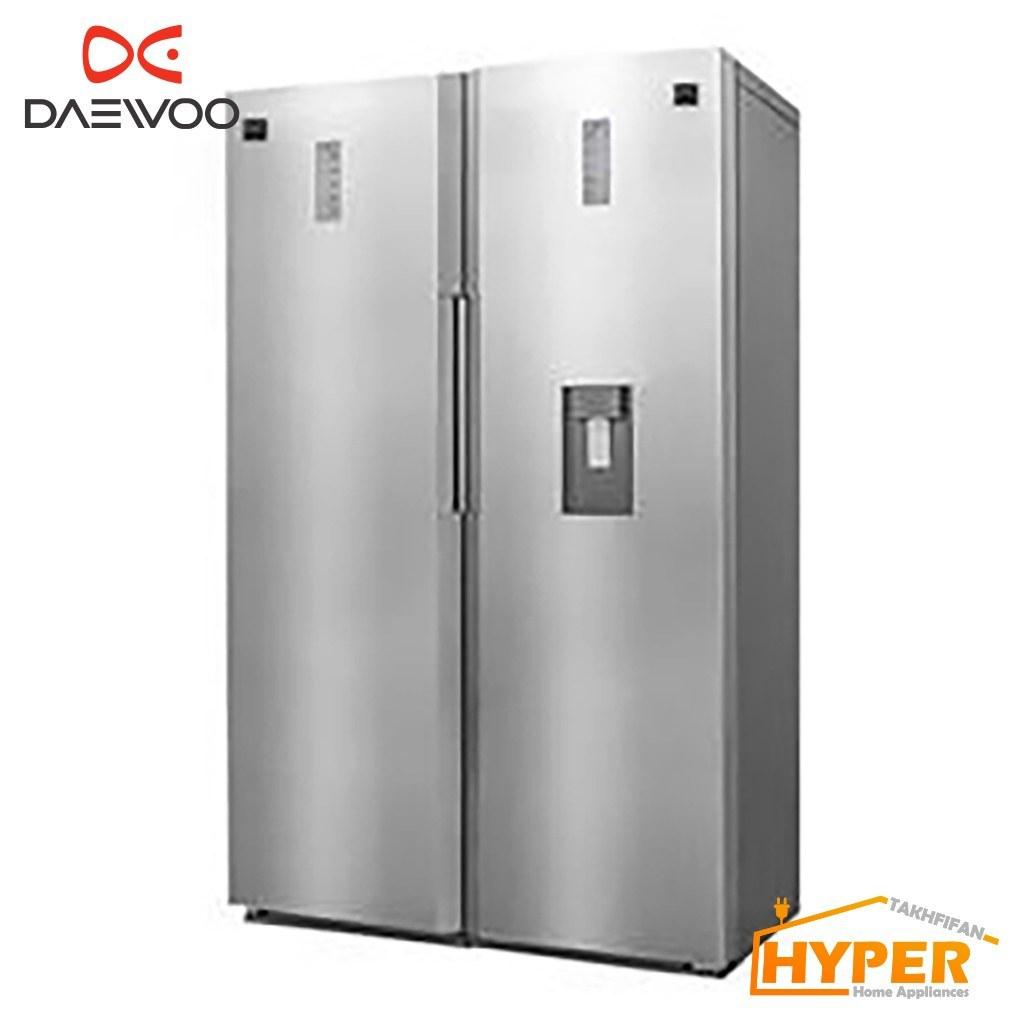 یخچال فریزر دوقلو دوو مدل D2LRF-0020SS