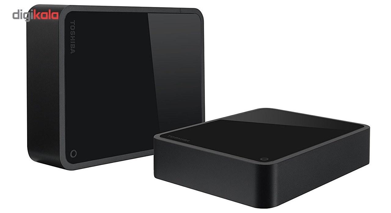 تصویر هارد اکسترنال توشیبا مدل Canvio for Desktop ظرفیت 4 ترابایت Toshiba Canvio for Desktop External Hard Drive - 4TB