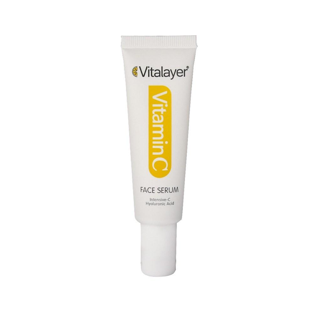 تصویر سرم صورت ویتامین C ویتالیر vitamin C face serum  30ml VITALAYER