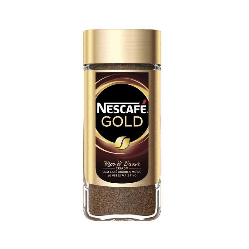 تصویر قهوه فوری نسکافه گلد مقدار 100 گرم Nescafe Gold Instant Coffee 100gr