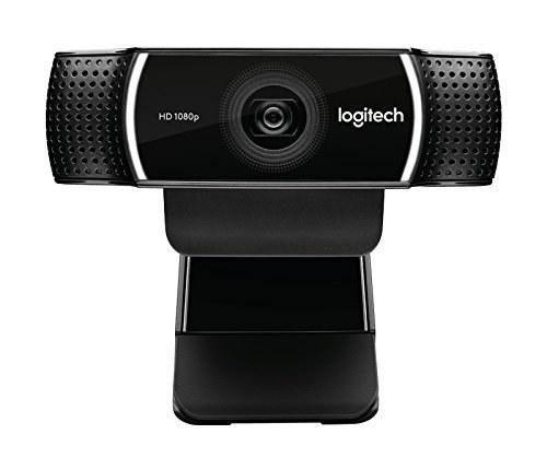 تصویر وب کم لاجیتک مدل C922 Pro - رنگ های واقعی و امکان تماس ویدیویی با کیفیت Full HD 1080p Logitech C922 Pro Stream Webcam 1080P Camera for HD Video Streaming & Recording 720P at 60Fps with Tripod Included