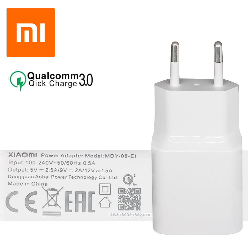 آداپتور فست شارژ شیائومی Xiaomi MDY-08-EI QC3.0 Fast Charger اصلی