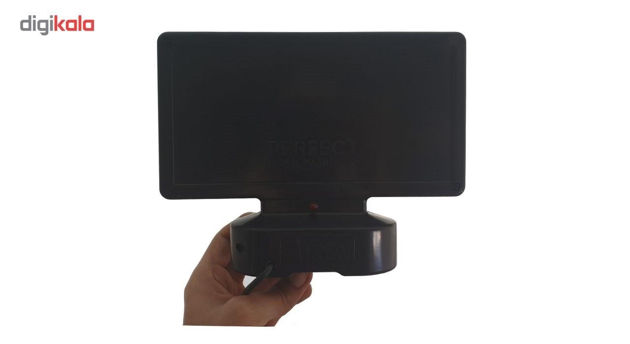 img آنتن دیجیتال رومیزی آترون مدل Perfect U plus ATRON Perfect U Plus Digital Indoor Antenna