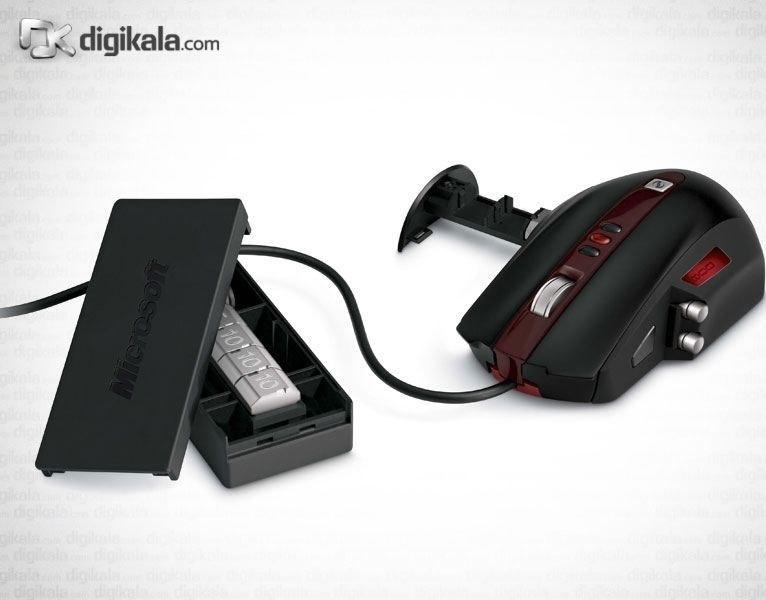 تصویر ماوس مايکروسافت ساير واندر گيمينگ ماوس Microsoft Sidewinder Gaming Mouse