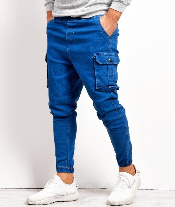 شلوار شش جیب مردانه مدل جین