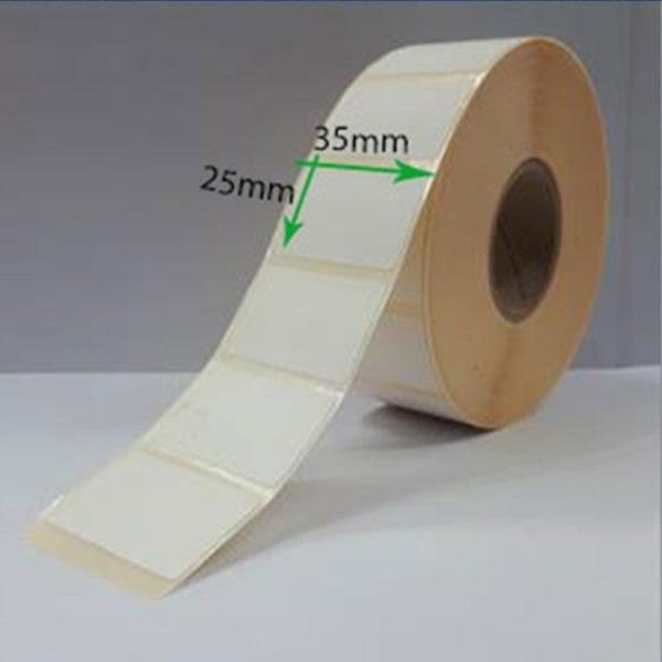 main images لیبل کاغذی سایز ۳۵ × ۲۵