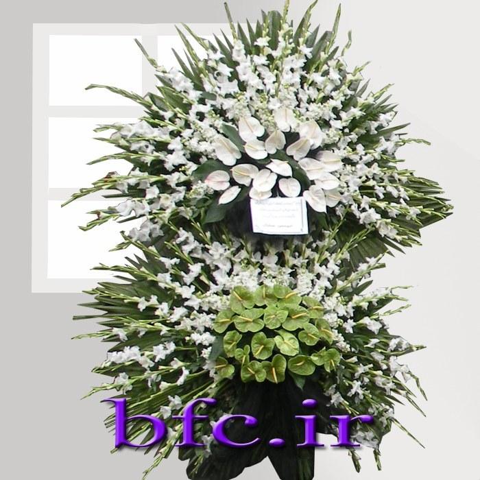 تصویر سبد گل ویژه ترحیم