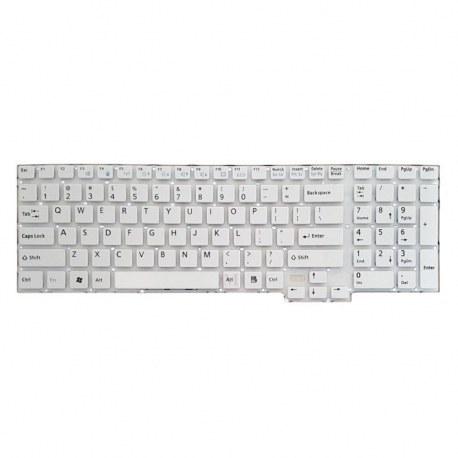 تصویر کیبورد لپ تاپ فوجیتسو Lifebook AH532 سفید-اینترکوچک بدون فریم