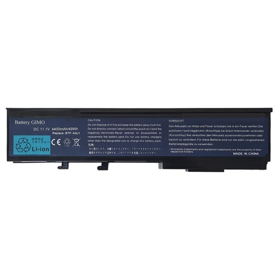 تصویر باتری لپ تاپ ایسر BTP-ARJ1 مناسب برای لپ تاپ ایسر AQJ1 5560-4230 شش سلولی