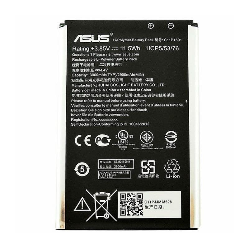 تصویر باتری ایسوس زنفون Asus zenfone selfi C11P1501 - ZD551KM Asus zenfone selfi C11P1501 - ZD551KM  Battery