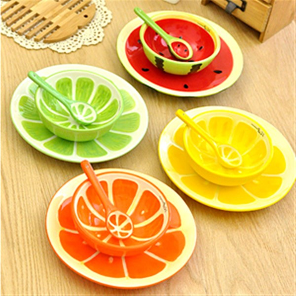 ست ظروف طرح میوه