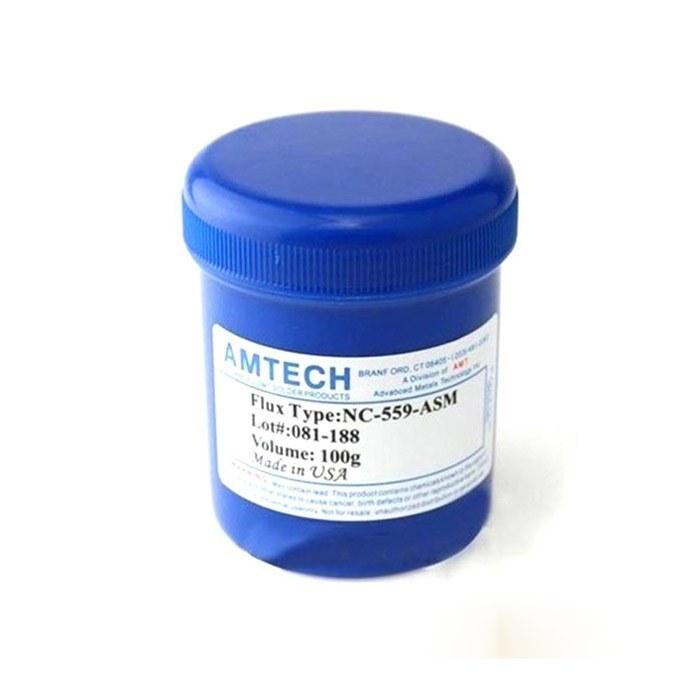 تصویر خمیر فلکس کاسه ای امتک مدل AMTECH NC-559-ASM-UV