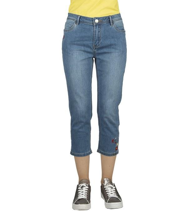 شلوارک جین زنانه راسته جین وست Jeanswest