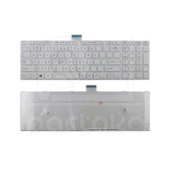 تصویر کیبورد لپ تاپ توشیبا Laptop Keyboard Toshiba Satellite C55
