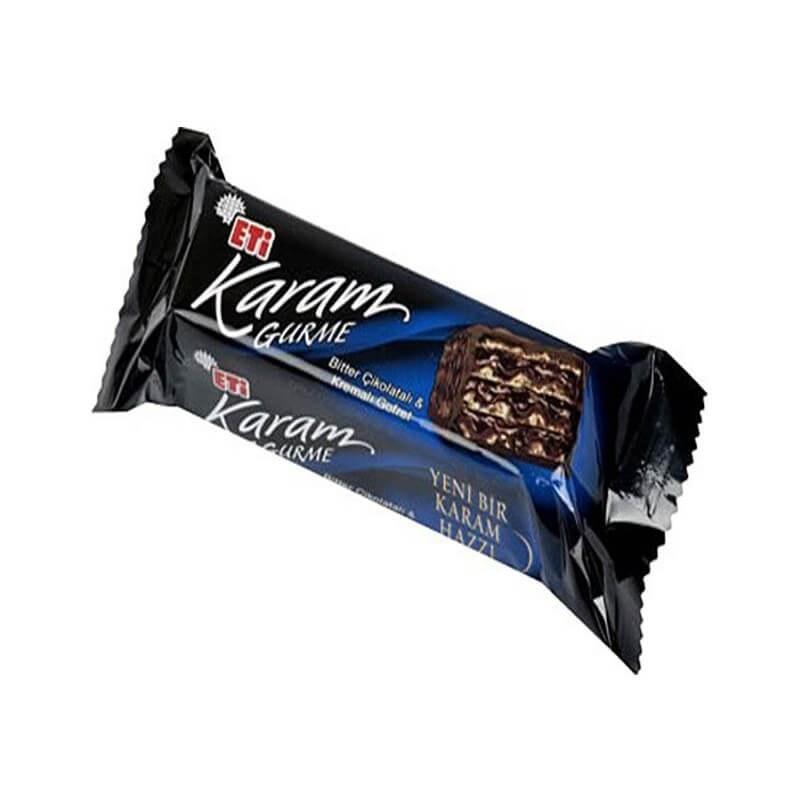 تصویر ویفر شکلات تلخ اتی کارام گورمه 50 گرم