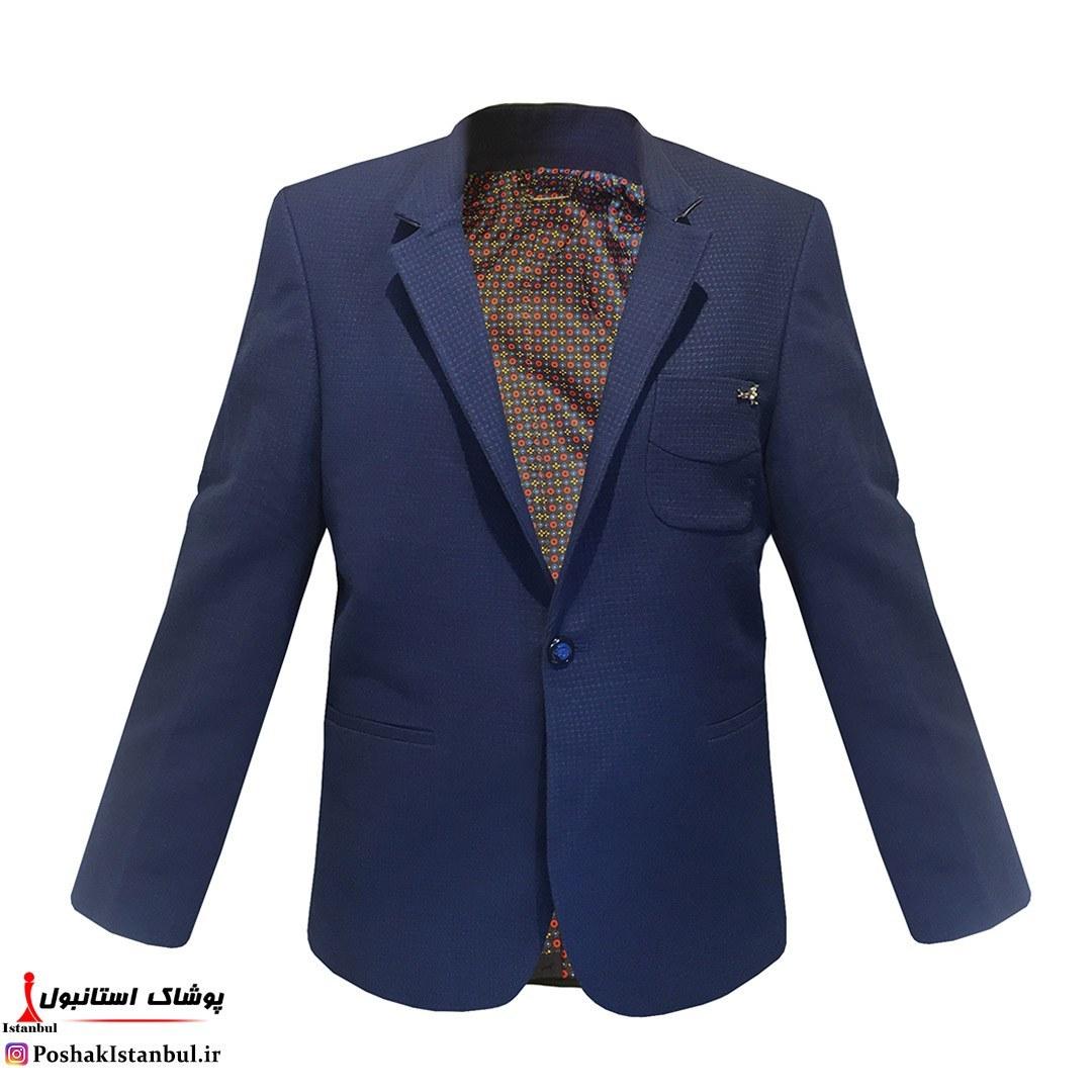 کت تک مردانه سایز بزرگ مدل آرت کد1001