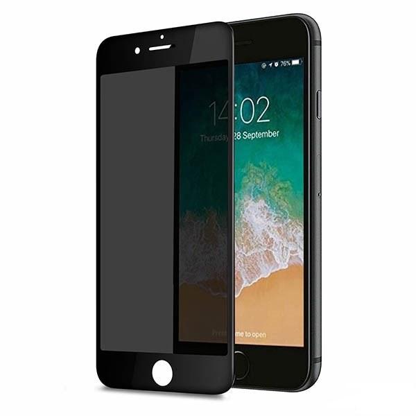 تصویر گلس حریم شخصی تمام چسب Apple iPhone 7 Plus / 8 Plus Privacy Glass