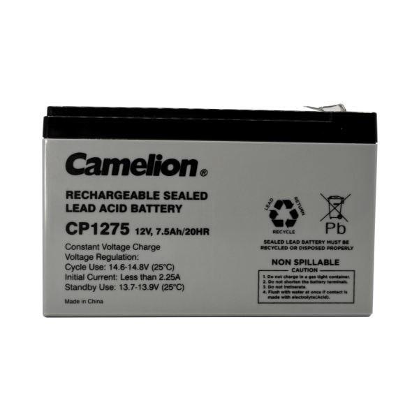 تصویر باتری یو پی اس 12 ولت 7.5 آمپر کملیون مدل CP1275