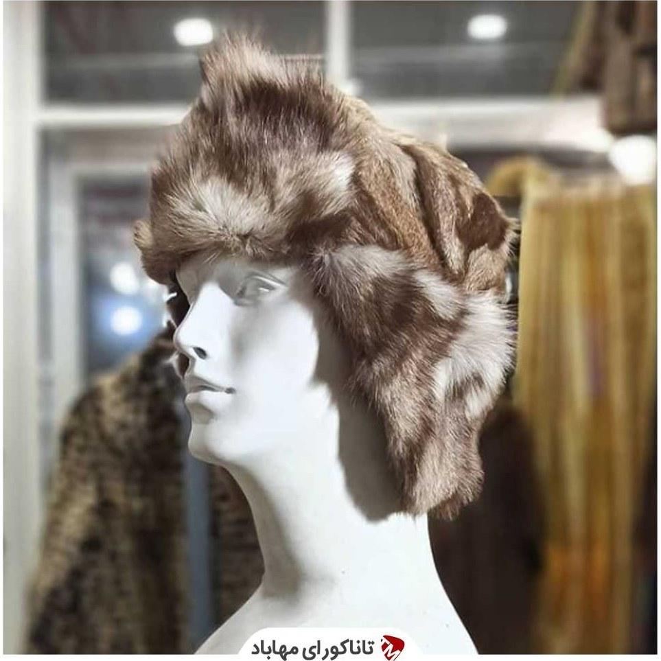 تصویر کلاه خزدار قهوه ای روسی Russian hat