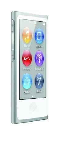 Apple iPod nano 16GB 7th نسل - نقره (آخرین مدل - راه اندازی سپتامبر 2012)