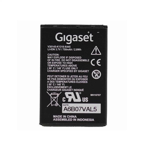 main images باتری اوریجینال تلفن بی سیم گیگاست مدل X445 Gigaset X445 Rechargeable Battery