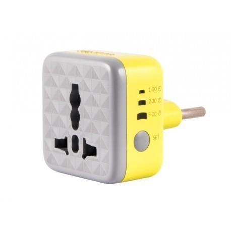 عکس محافظ برق هوشمند تایمردار هادرون مدل P102 کد محصول: 1511968 محافظ-برق-هوشمند-تایمردار-هادرون-مدل-p102