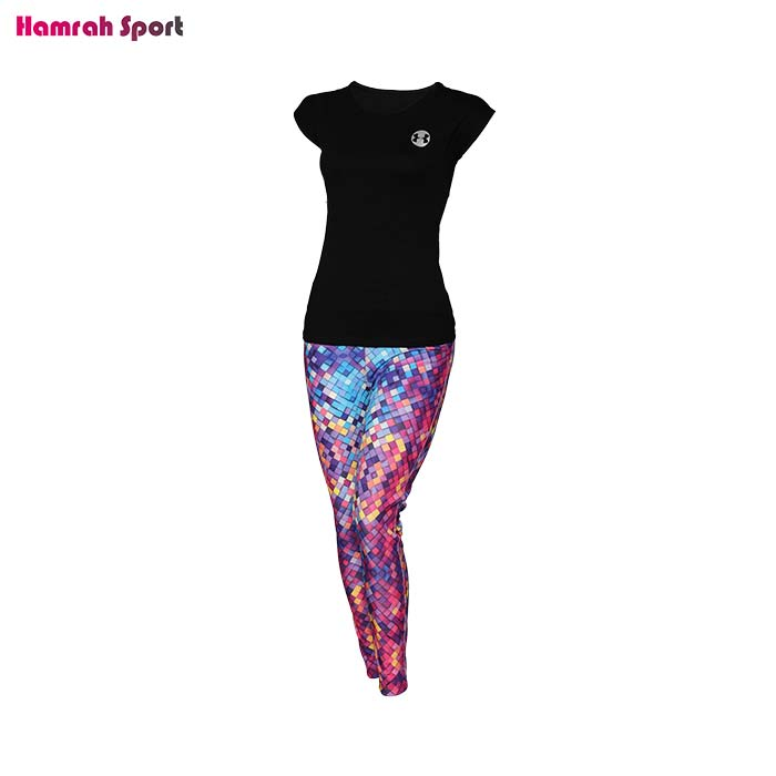 تصویر ست تیشرت و شلوار لگ ورزشی زنانه آندر آرمور (UNDER ARMOUR) اعلا