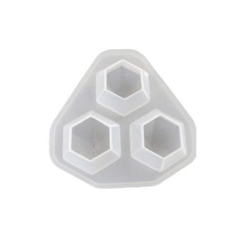 قالب سیلیکون الماس ۳ عددی AC311
