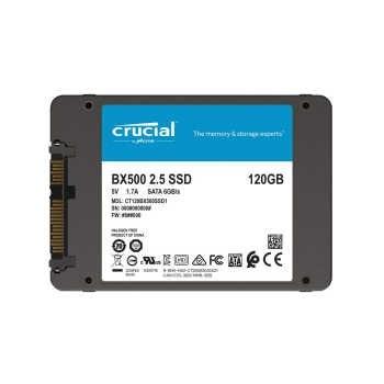 حافظه اس اس دی کروشیال مدل BX500 با ظرفیت 120 گیگابایت