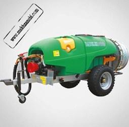 تصویر مخزن سمپاش 400 لیتری توربینی سبز