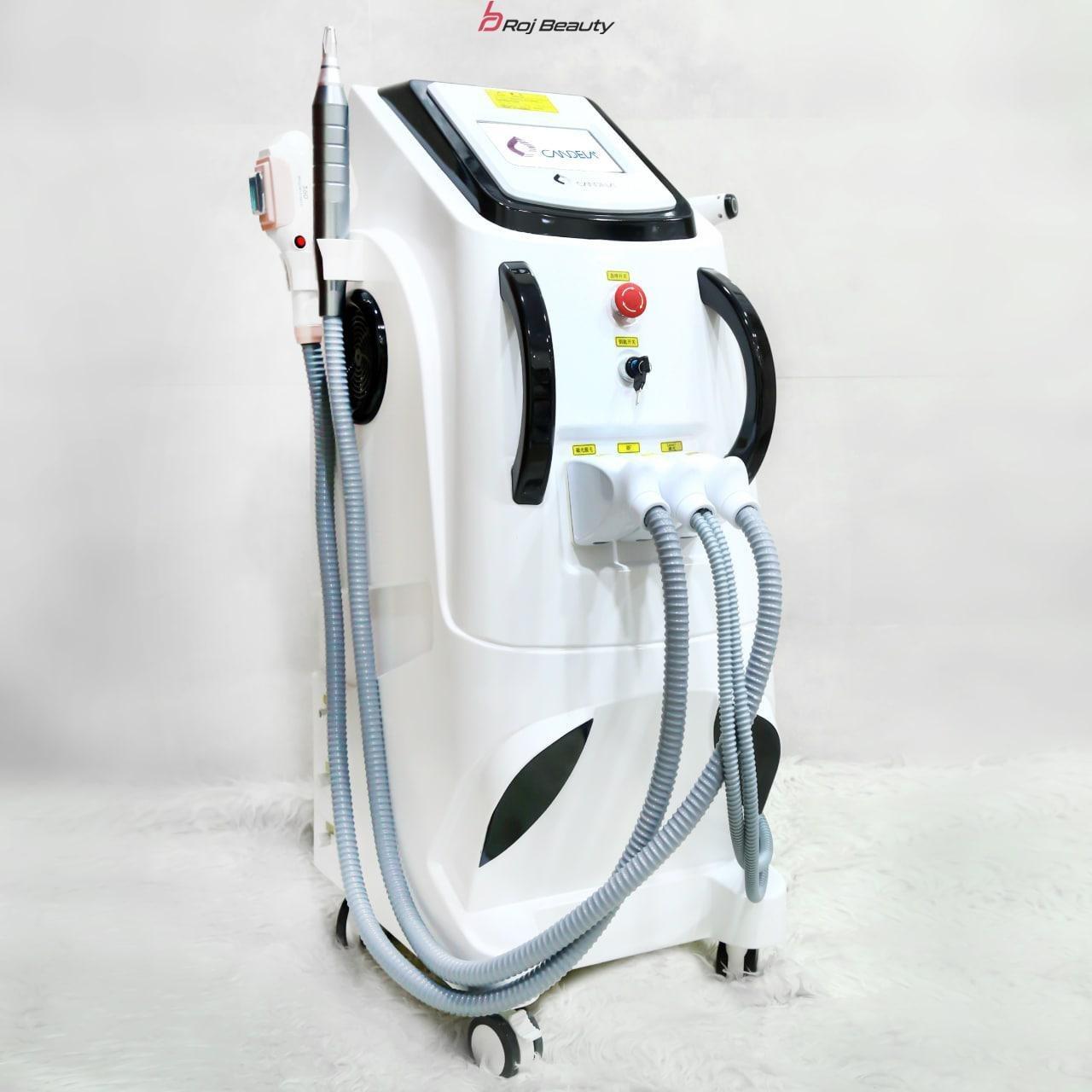 تصویر دستگاه لیزر اچ اس آر ۴ هندپیس کندلا