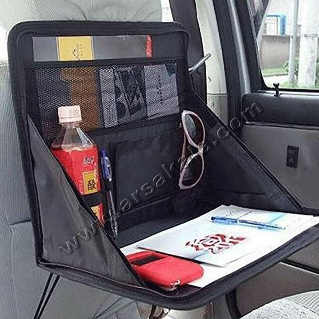 میز لپ تاپ و پذیرایی خودرو
