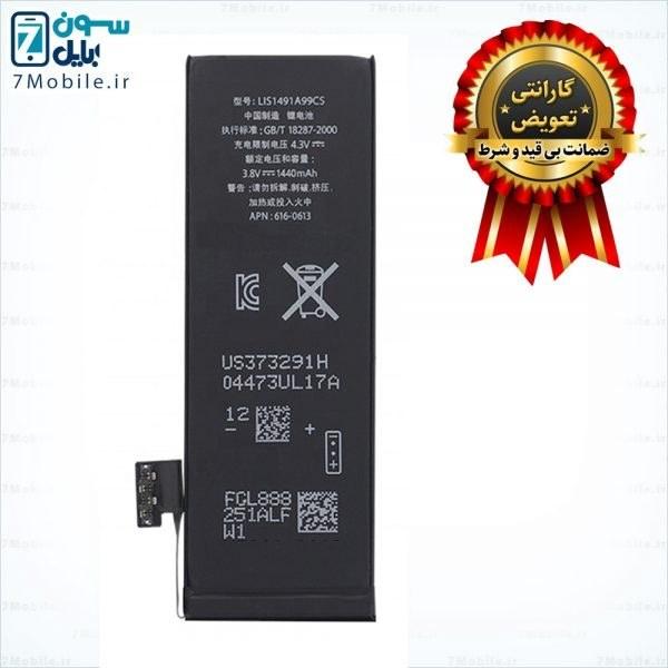 تصویر باطری موبایل اپل IPHONE 5 (616-0611) IPHONE 5