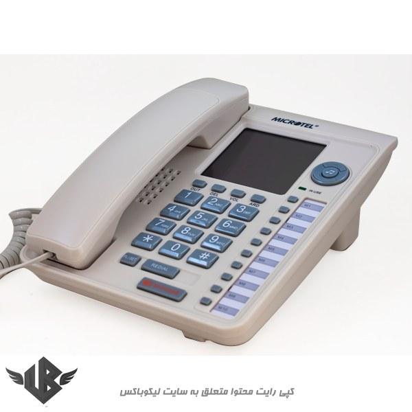 تصویر تلفن مایکروتل مدل MCT-117CID
