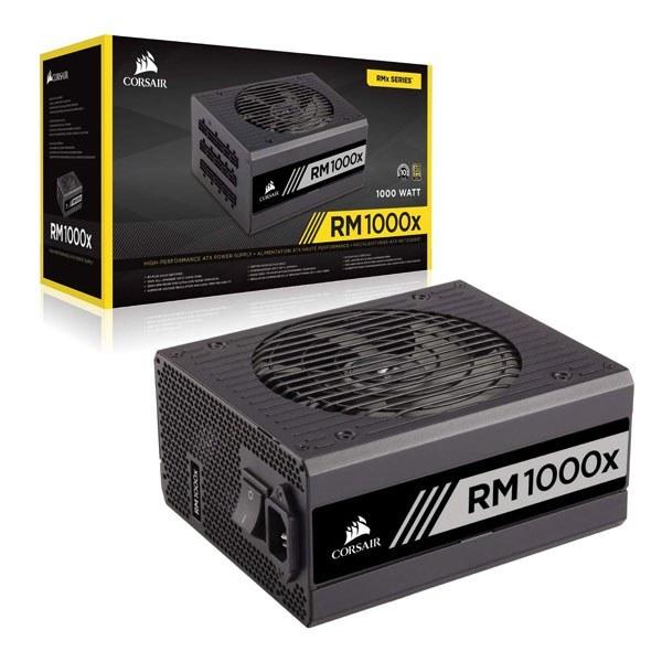 تصویر منبع تغذیه کامپیوتر CORSAIR RM1000X PLUS Gold80