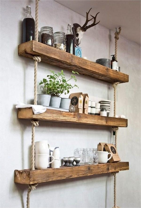 عکس شلف دیواری سه طبقه چوبی  شلف-دیواری-سه-طبقه-چوبی