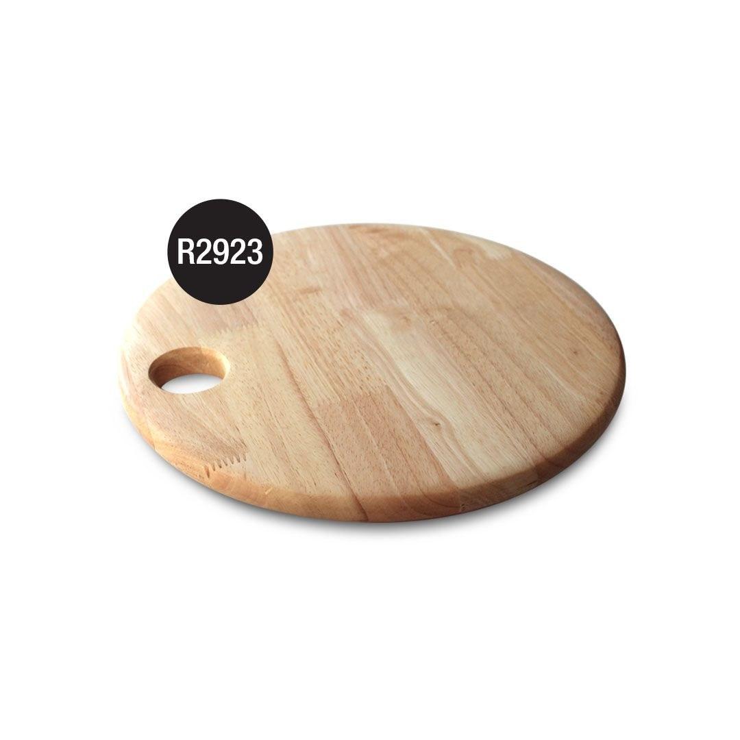 تصویر R2923تخته گوشت چوبی دایره متوسط مدل  آیکون