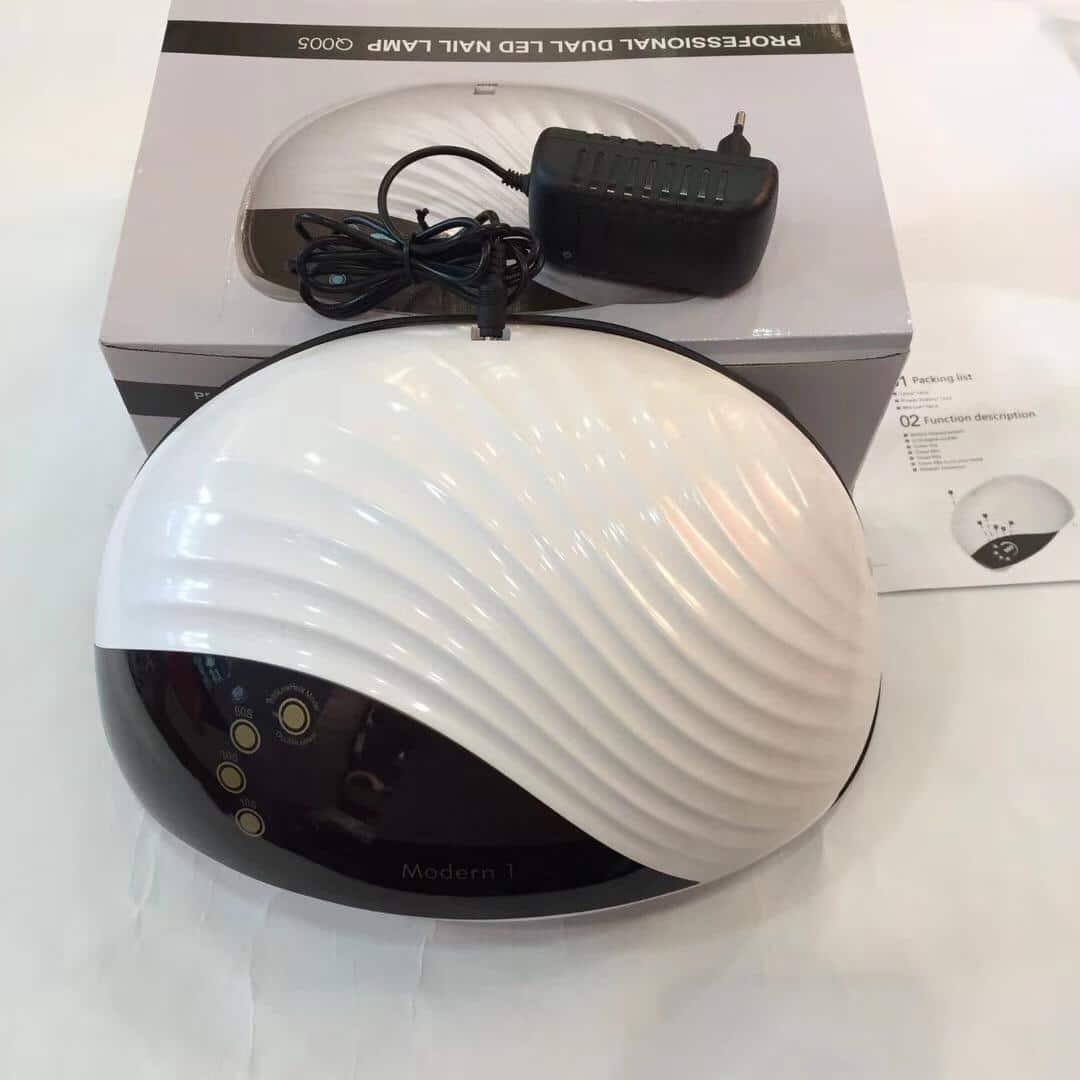 تصویر دستگاه یو وی ال ای دی ۱۲۰ وات مدل  Professional Dual Nail lamp Q005