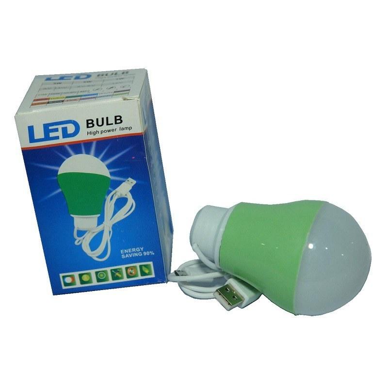 تصویر لامپ آویزدار LED Bulb USB