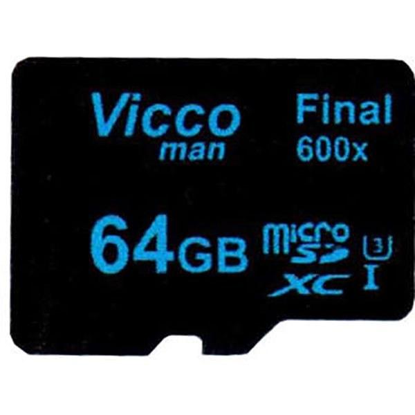 تصویر کارت حافظه microSDHC ویکومن مدل Final 600x ظرفیت 64گیگابایت