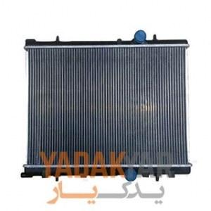 رادیاتور آب پژو 206 تیپ 2 کوشش رادیاتور