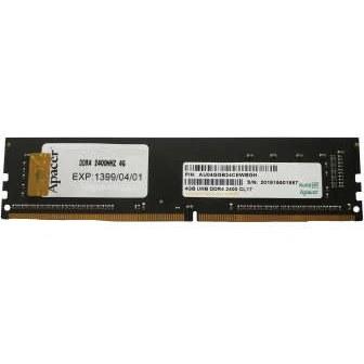 رم کامپیوتر اپیسر مدل DDR4 2400MHz CL17 ظرفیت 4 گیگابایت | Apacer 4GB UND DDR4 2400MHz CL17 RAM