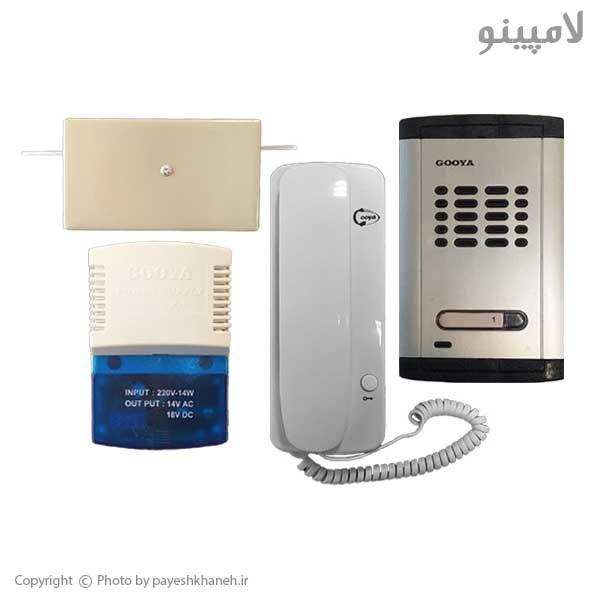 تصویر درب بازکن صوتی گویا بسته کامل ۱ واحدی مدل EG600